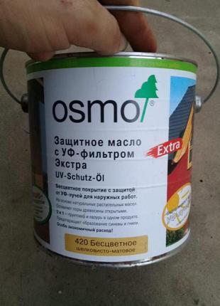 Защитное масло с УФ-фильтром OSMO UV-Schutz-Öl экстра бесцветное