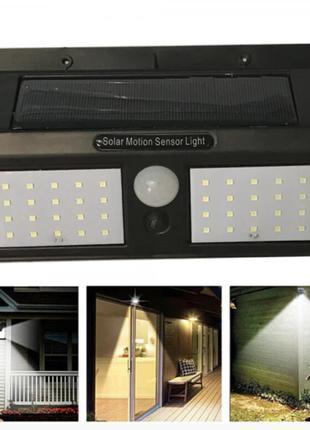 Светодиодный настенный светильник Solar motion sensor Light 818
