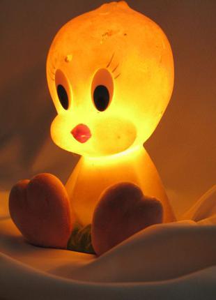 "Ночник лампа Канарейка ""Твитти"" в детскую комнату"