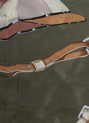 Шикарный платок шелк италия