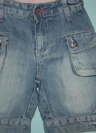 Джинсовые шорты узкие ф.babyface р-98/104 в отличном состоянии