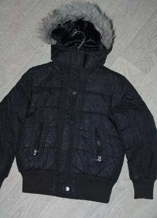 Зимняя теплая курточка  для мальчика р-128/134  лет в очень хо...