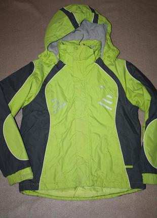 Зимняя теплая курточка  для мальчика р-146/152  лет в хорошем ...