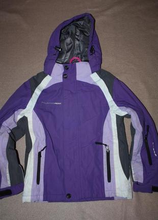 Зимняя  курточка   для девочки или мальчика р-128 в отличном с...