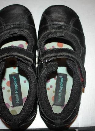 Кожаные туфли hush puppies р-29,евр-10 в хорошем состоянии
