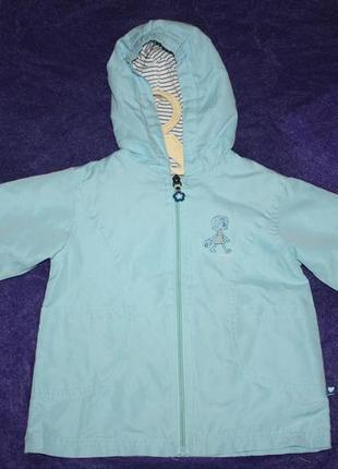 Изящная курточка-ветровка ф. babyclab р-86/92 в отличном состо...