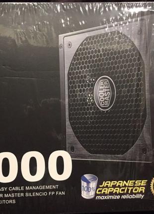 Продам модульный блок питания cooler master v1000 1000ват