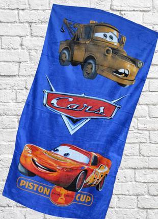"""Детское пляжное полотенце для мальчиков """"тачки 2"""" код pi00501"""