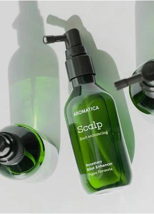 Тоник для укрепления и усиления роста волос с розмарином aroma...