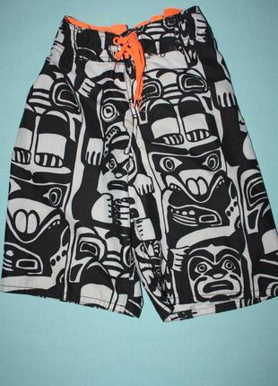 Купальные шорты ф.h&m .h-134/140 от 8/10лет в отличном состоянии