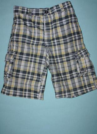 Модные шорты ф.denim для мальчика 8/9лет р-134 в отличном сост...