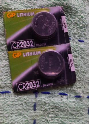 Батарейка  GP litium CR2032