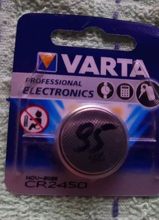 Varta CR2450 батарейка
