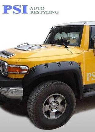 Расширители колесных арок (Bushwacker) Toyota FJ Cruiser 2007-...