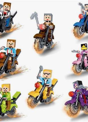 Фигурки, человечки майнкрафт лего lego (аналог)
