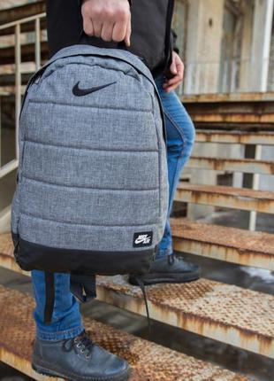 Рюкзак nike air портфель серый найк ранец женский / мужской