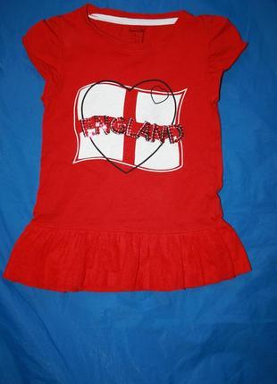 Красивое красное платье ф.young dimensionдля ребенка 2/3лет в ...