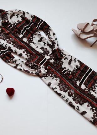 Платье-рубашка миди f&f
