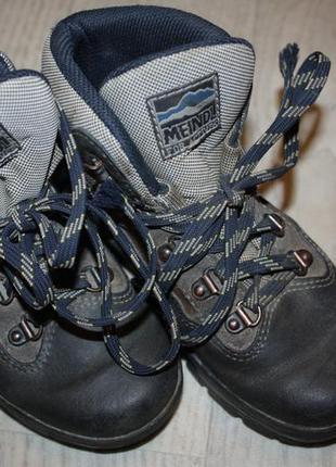 Шикарная goretex зимняя обувь для мальчика ф.meindl р-32 в оче...