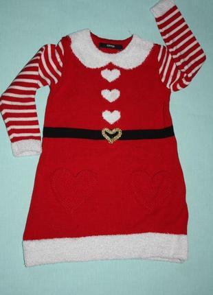 Милое новогоднее платье ф.george для принцесс 2/3лет ,р-92/98 ...