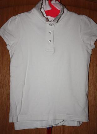 Школьные футболки-поло на девочку ф.george р-128-140 в отлично...