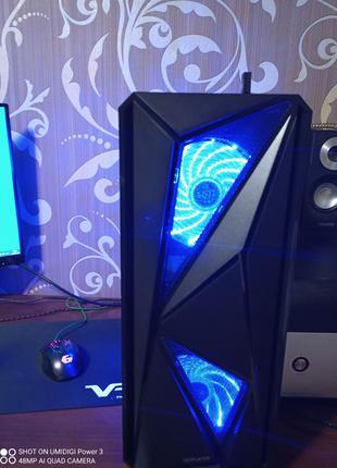 Мощный игровой пк компьютер Ryzen 5 2600 Ddr4 16gb GTX1060 6gb