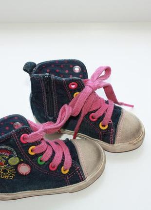 Кедики джинсовые на маленькую принцессу ф.некст р-3