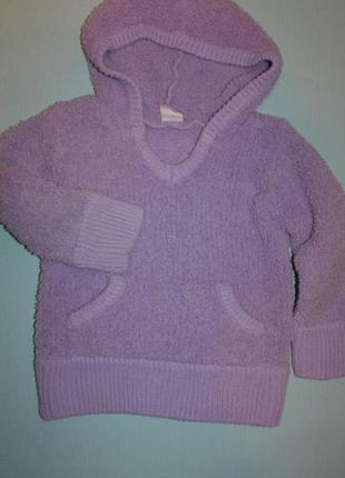 Стильненький фирменный супер-мягкий теплый свитер на девочку 5...