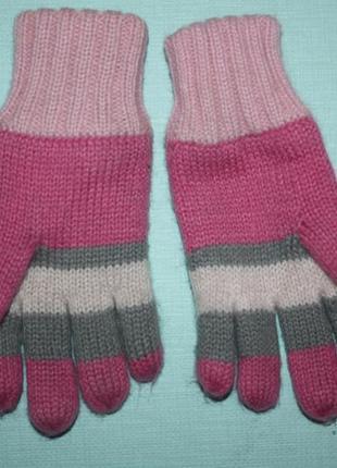 Зимние очаровательные двойные теплые перчатки на ребенка до 5-...