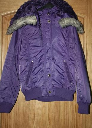 Демисезонная ф.here there ,теплая курточка на ребенка р-152 в ...