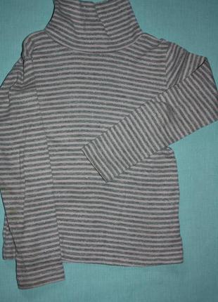 Водолазка полосатенькая р-116 на ребенка 6лет