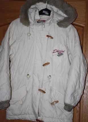 Демисезонная ф.here there ,теплая курточка на ребенка р-152(13...