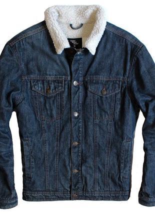 Джинсовая куртка шерпа cedarwood state