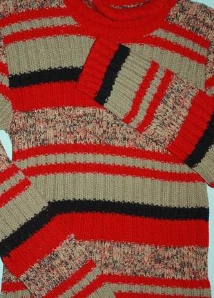 Вязаный свитер-гольф