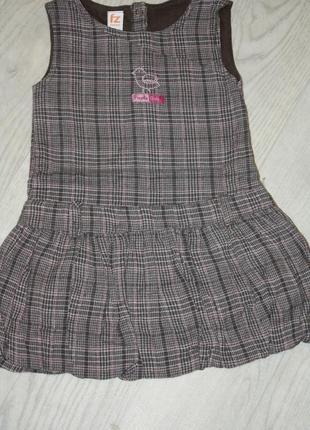 Прекрасное платье ф.frendz на девочку 1-1,5-2года, р-80/86 в и...