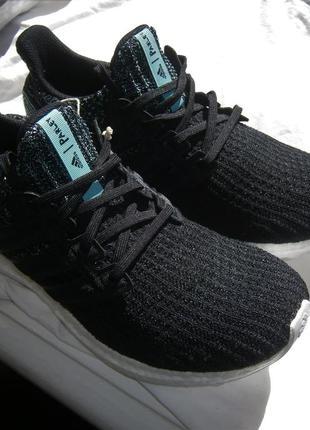Кроссовки adidas ultra boost 4.0 parley core black f36190 ориг...