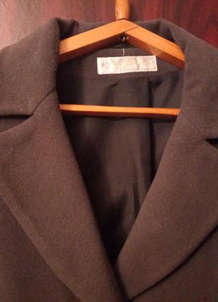 Пальто женское демисезонное в идеальном состоянии цвет мокрый ...