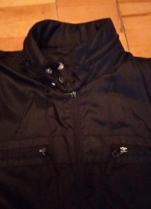 Мужская куртка осень-весна с водоотталкивающим эффектом