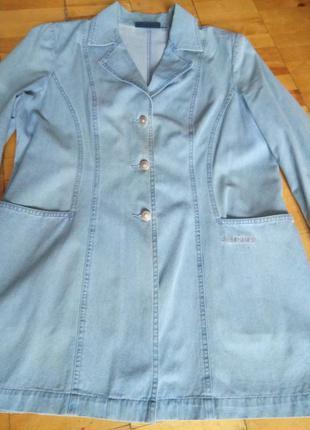 Жакет пиджак женский джинсовый  lafei nier