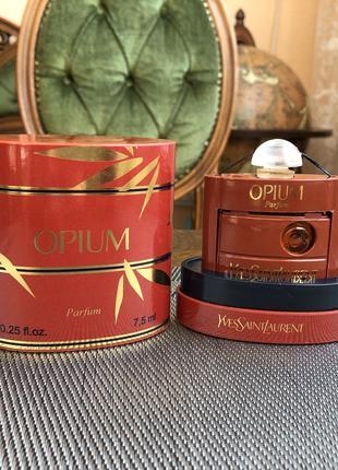 Духи винтажные Yves Saint Laurent Opium, 7,5 мл,НОВЫЕ