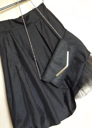 Пышная юбка фатин
