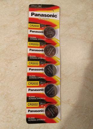 Батарейки Panasonic CR2032