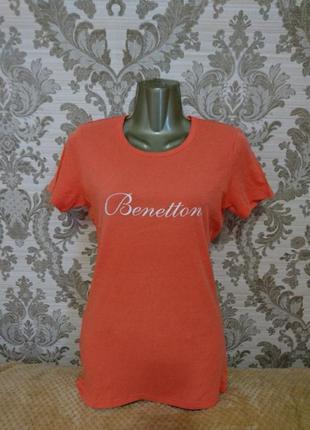 Футболка женская беннетон united colors of benetton
