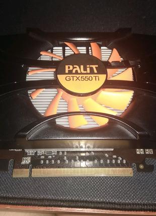 Видеокарта GtX 550ti