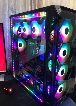 Компьютер ПК прецессор i9 видеокарты GTX 1080 TI SLI оперативка 3