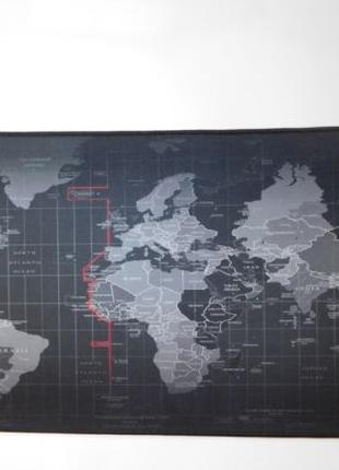 Коврик карта мира (70*30)