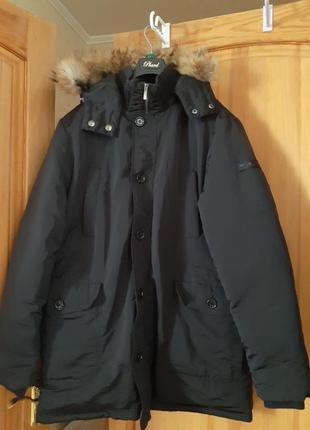 Пуховик пуховая парка куртка 56 xl