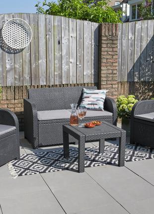 Комплект садовой мебели Allibert Georgia Lounge Set