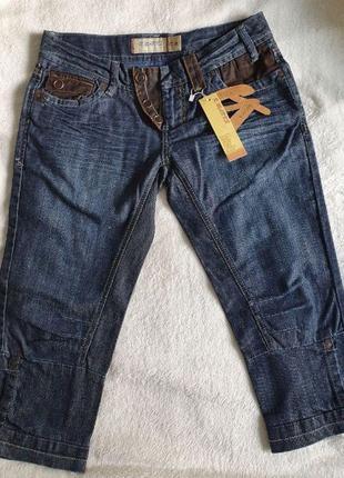 Новые женские бриджи, бриджи джинсовые.