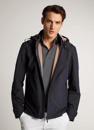 Куртка ветровка massimo dutti (с ветро- и влагозащитой)